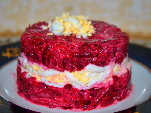 Салаты со свеклой самые вкусные рецепты